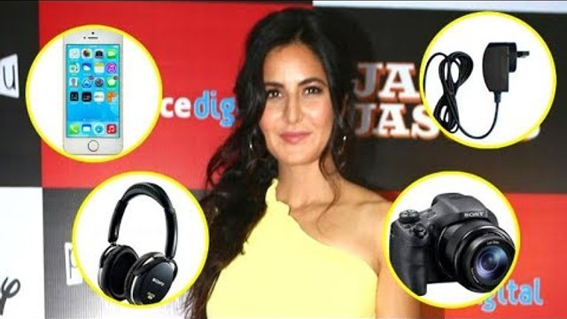 Katrina Kaif's 5 GADGETS for the adventurous trip that she never forgets