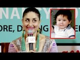 Kareena Kapoor SPEAKS About Baby Taimur Ali Khan For The First Time | Taimur Ali Khan