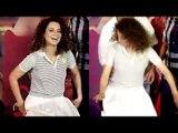 Kangana Ranaut SAVES Herself From FALLING At Simran Trailer Launch ,  Bollywood Actors Falling