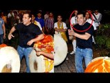 Salman Khan's Ganpati Visarjan 2017 FULL VIDEO   Bollywood actors Ganpati visarjan