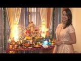 Hrishitaa Bhatt Welcomes Ganpati Bappa on the Occasion of Ganesh Chaturthi