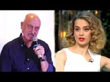 Anupam Kher OPENLY Insults Kangana Ranaut's NEPOTISM Comment In Public