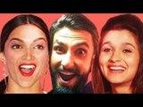 Ranveer Singh's FUNNY Videos With Bollywood Actors| Deepika Padukone, Alia Bhatt, Akshay Kumar