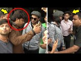 ANGRY Ranveer Singh INSULTS FANS For Stepping On His New Shoes In Public