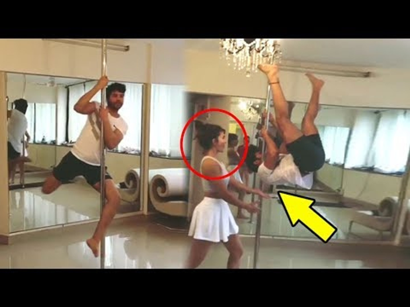 Varun Dhawan's FUNNY Video Of Doing Pole Dance With Jacqueline Fernandez