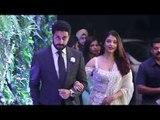 LIVE Aishwarya Rai & Abhishek Bachchan's GRAND Entry At Virat Kohli Anushka Sharma Wedding Reception