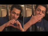 Salman Khan's CUTE Live Video Of Wishing Fans Valentines Day