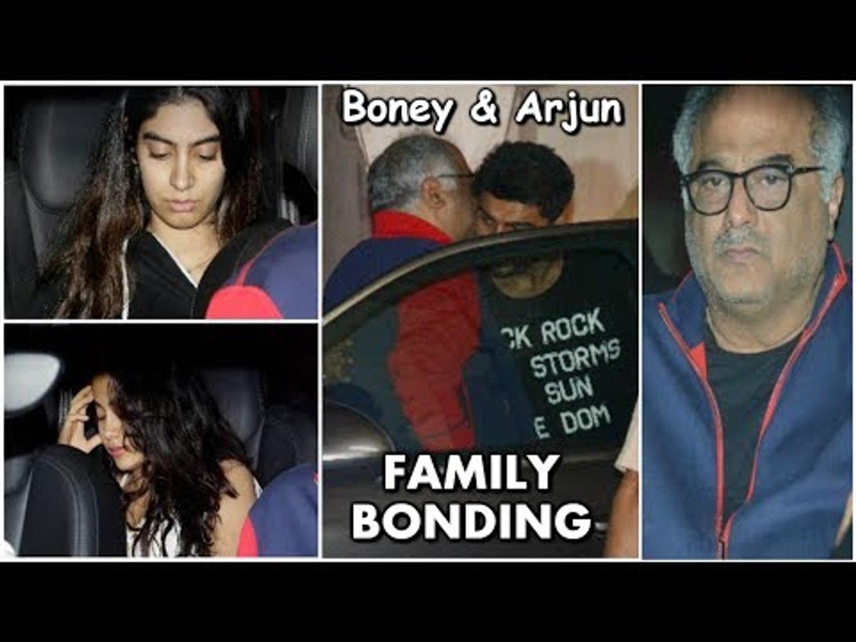Sridevi's Daughter Jhanvi Kapoor CRIES & Gets SAD After Meeting Arjun Kapoor | Boney Kapoor's Fa