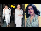 Sara Ali Khan LOOKS Exactly Like Her Mother Amrita Singh | SPOTTED At Juhu PVR