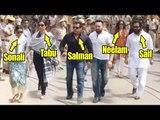 Salman Khan, Saif Ali Khan, Tabu, Sonali Bendre, Neelam ENTER CJM Court   BlackBuck Poaching Case