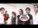 Arbaaz Khan IGNORES Malaika Arora & Son Arhaan Khan at the Launch of Diva Yoga Premium Studio