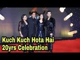 SRK, Kajol, Rani Mukerji & Karan Johar with Bollywood Celebs at Kuch Kuch Hota Hai 20yrs Celebration