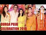 All Bollywood Celebs DURGA PUJA 2018 Full Video HD | Kajol, Rani Mukherjee Ranbir Kapoor, Alia Bhatt