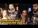 Arjun Kapoor SAVES GF Malaika Arora From Media Reporters| Malaika Arora & Arjun Kapoor Spotted