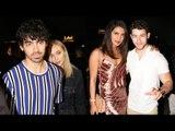 Priyanka Chopra & Nick Jonas With Friend Sophie Turner & Joe Jonas On a DINNER Date In Mumbai