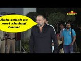 SANJAY DUTT Paying His dues to 'thackrey'
