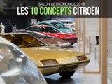 Citroën : ses concepts stars du Salon Rétromobile 2019