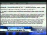 Defensa de Fernando Balda dice que su encarcelamiento es ilegal