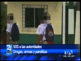 Rectores de colegios piden ayuda para enfrentar drogas, armas y pandillas