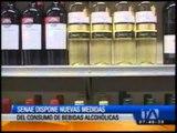 Senae establece nuevas medidas para el consumo de bebidas alcohólicas en el país