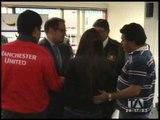 Joven plagiado el pasado 7 de diciembre fue rescatado