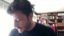 Danilo Gentili recebe carta da Maria do Rosário, rasga a carta e passa no saco