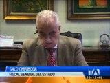 Galo Chiriboga confirma relaciones en varios casos de corrupción