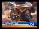 Música Baile y Peleas en el Inti Raymi