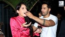Nora Fatehi's Birthday Celebration With Varun Dhawan | Street Dancer 3