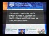 FEF entregó informe que solicitó LDU por viaje a Brasil