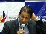 Así anunció José Francisco Cevallos su renuncia
