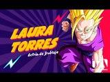 Laura Torres - Actriz de doblaje - Voz de Goku, Gohan y Goten - Súper Fan Fest Quito - Teleamazonas