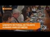Correa presidió gabinete sectorial de talento humano - Teleamazonas