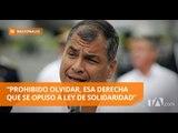 Correa llegó a Manabí y agradeció el apoyo en las urnas - Teleamazonas