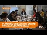 Enfrentamientos entre dirigentes en la Asamblea Nacional - Teleamazonas
