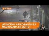 Cámaras del ECU-911 captan impactante robo en Quito