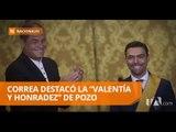Correa condecoró al Presidente del Consejo Nacional Electoral - Teleamazonas