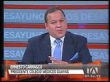 Entrevista a Ernesto Carrasco, sobre el nuevo Código Orgánico de Salud