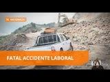 Un cantero murió al caer sobre una roca durante la jornada laboral - Teleamazon