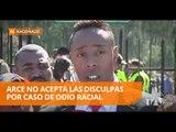 Michael Arce no aceptó las disculpas de Fernando Encalada - Teleamazonas