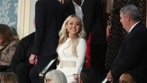 Tiffany Trump Wears White To State Of The Union Address