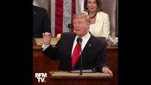 En évoquant la place des femmes, Trump se fait ovationner au Congrès