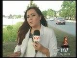 Auto cayó al Río Babahoyo con dos adultos mayores - Teleamazonas