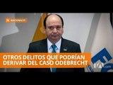"""Baca Mancheno: """"El Caso Odebrecht puede derivar en casos más graves"""" - Teleamazonas"""