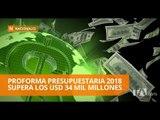 Gobierno envía Proforma Presupuestaria 2018 a la Asamblea Nacional - Teleamazonas