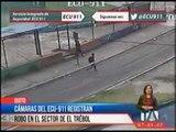 Cámaras del ECU-911 registran robo en el sector de El Trébol