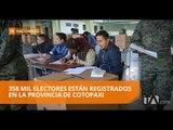Cotopaxi: votación se desarrolla con normalidad - Teleamazonas
