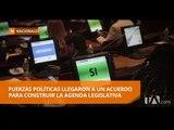 La Asamblea Nacional acuerda una agenda con 28 proyectos de ley - Teleamazonas
