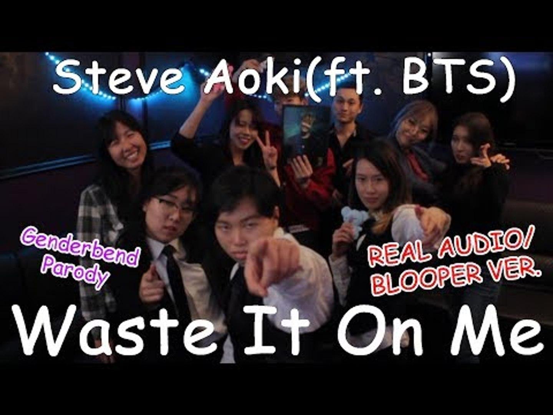 Ky Steve Aoki Ft Bts Waste It On Me Genderbend Parody Mv