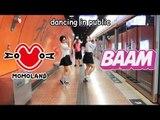 【Ky x Jeonsann ▶︎ KPOP IN PUBLIC】MOMOLAND — BAAM DANCE COVER (Hongkong Subway ver.)